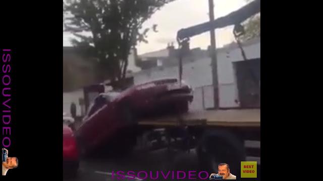 Tow truck fail issouvideo