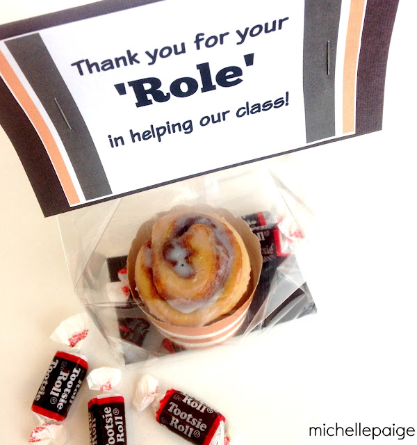 Thank You 'Roll' Gift