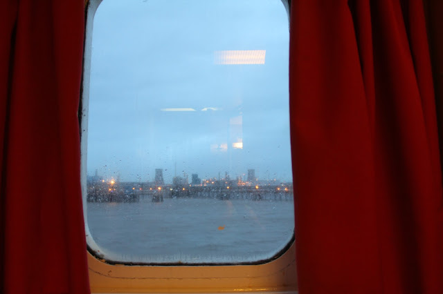 ferry cabin window