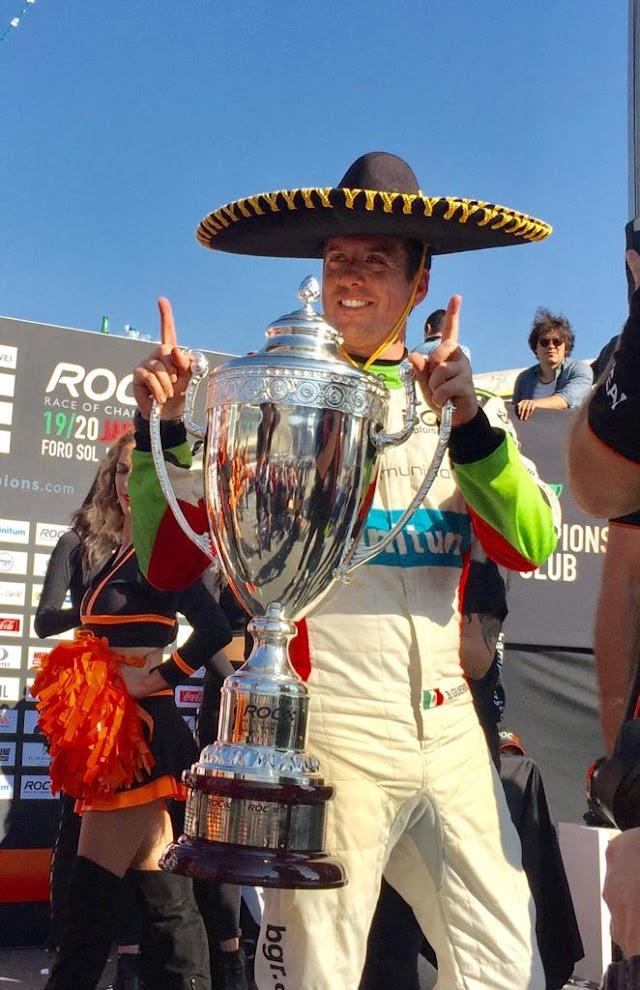 Benito Guerra se corona campeón como local en ROC México 2019