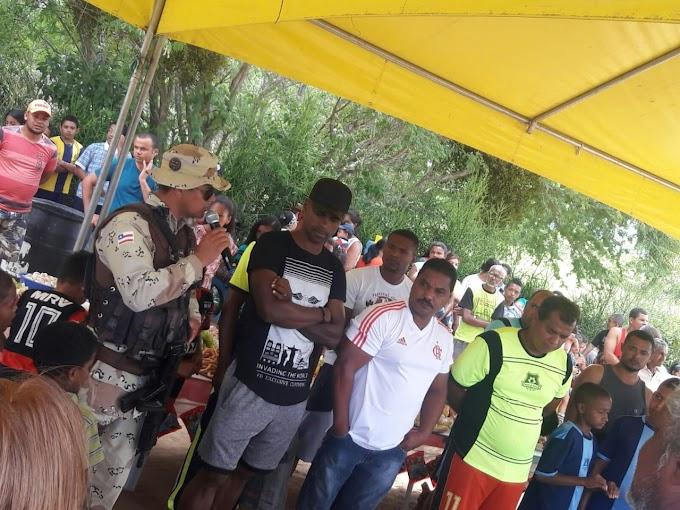NOTÍCIAS DO MANDATO | Vereador Cícero Custódio participa de confraternização em comunidades quilombolas