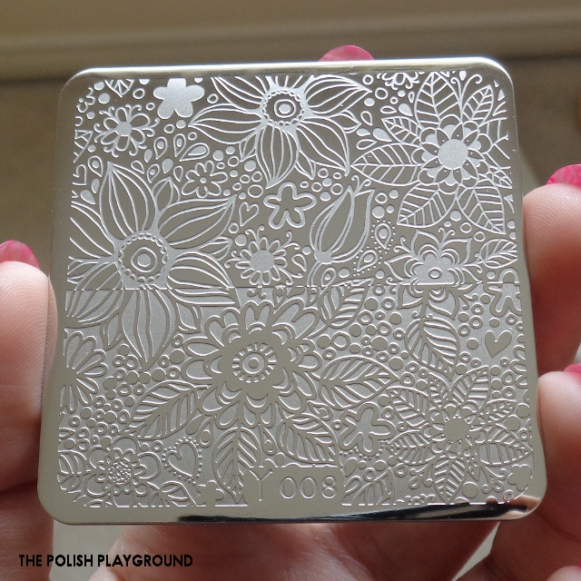 Born Pretty Store - Stamping Plate Y008 Review