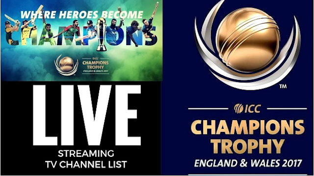 ICC Chanmpions Trophy Live Cricket, blogkori