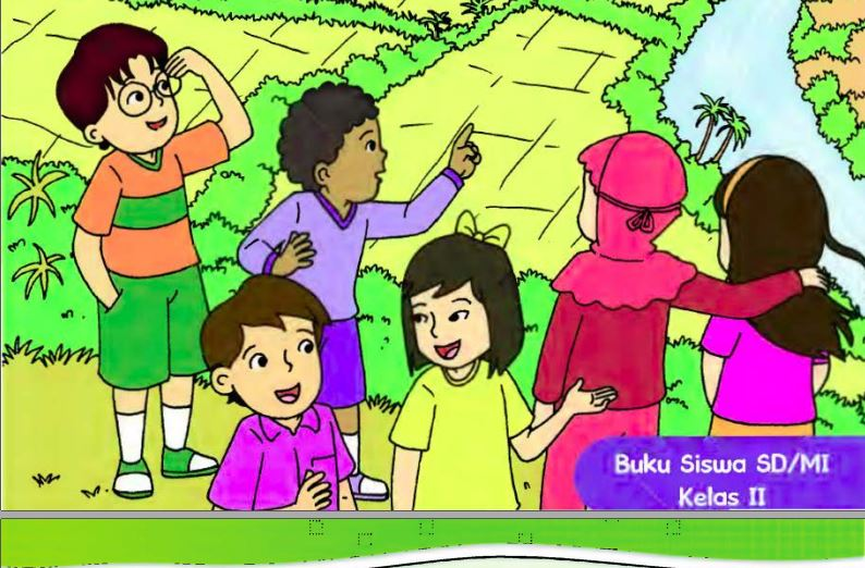 Download Buku Tematik Kurikulum 2013 Kelas II SD/MI Semester 2