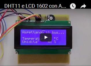 DHT11 e LCD 1602 con Arduino UNO R3
