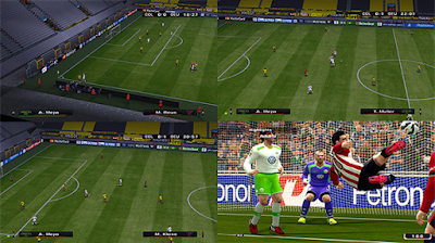 PES 6 SweetFX v2 Enhanced Graphics
