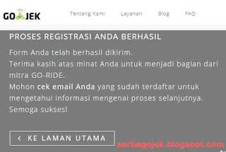 Cara Daftar Driver GoJek Online