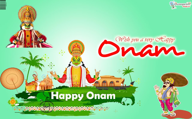 Latest Onam Festival wishes greetings quotes 2017