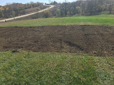 Fall Garden Freshly Tilled at Woodward Acres
