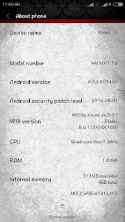 Custom Rom Miui 8 for Evercoss A7V