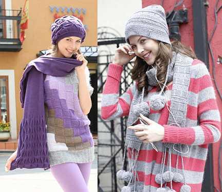 """Шапки, шарфы и комплекты """"Ferz""""и """"Snapp"""" оптом"""