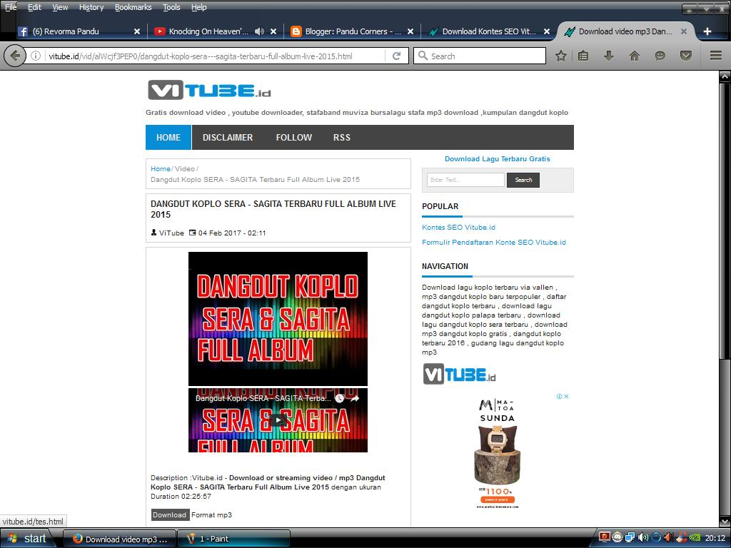 Vitube.id - Download Dangdut Koplo Terbaru - Pandu Corners