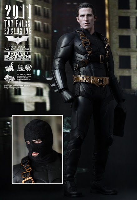 Batman Begins Bruce Wayne Prototype Bat Suit