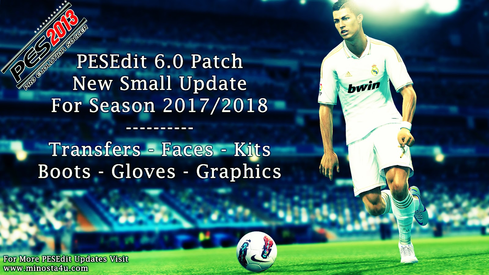 PESEdit.com 2013 Patch 6.0 - PES Patch