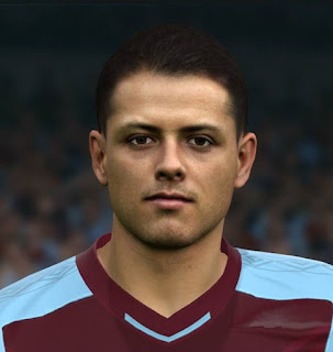 "PES 2017 Faces Javier ""Chicharito"" Hernandez by Sameh Momen"