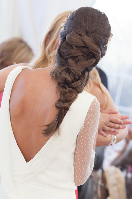 braided wedding hair  {Cool Chic Style Fashion}