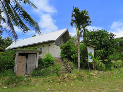 The Kaday Community Center, Yap, Micronesia.