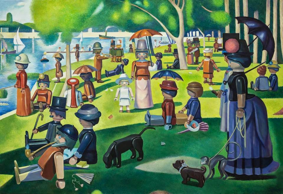01-A-Sunday-on-La-Grande-Jatte-Pierre-Adrien-Sollier-Playmobil-www-designstack-co