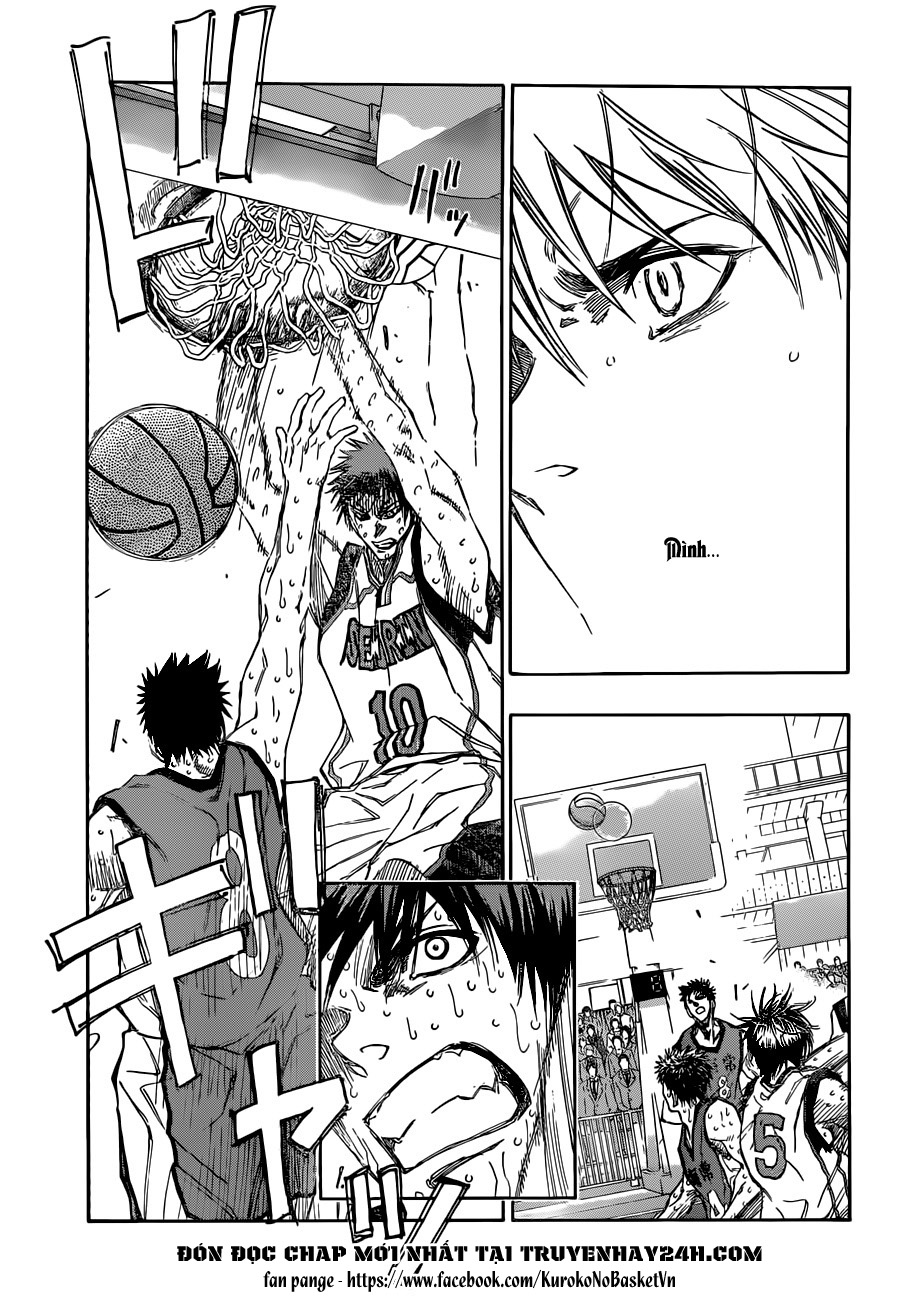 Kuroko No Basket chap 195 trang 11
