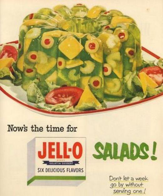 Yesterfood : Classic Jello Salad