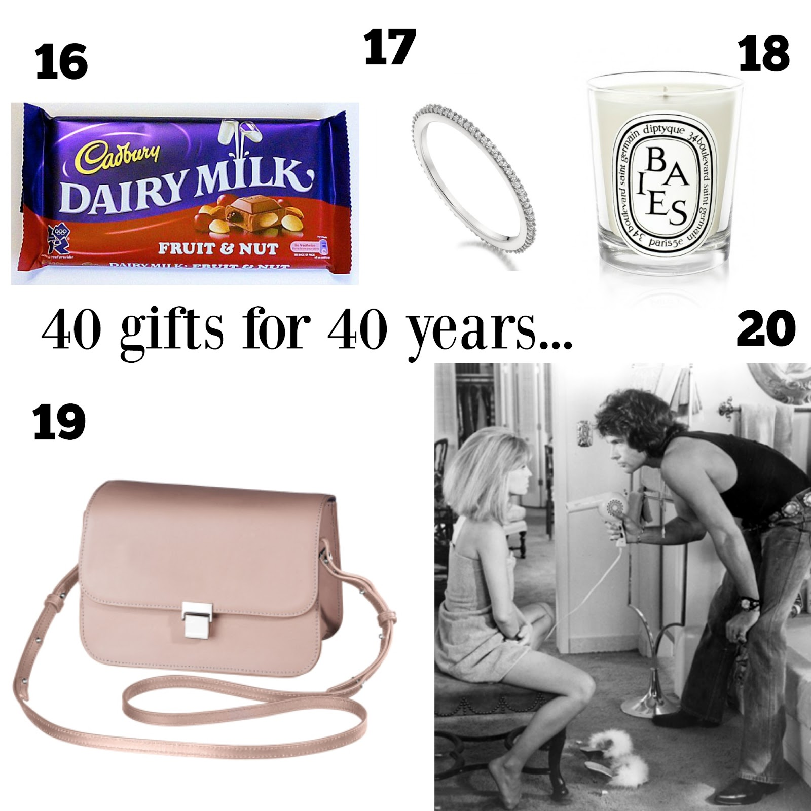 mamasVIB | V. I. BUYS: This is 40! The Birthday Wish List - 40 gifts from £1.50 to Priceless