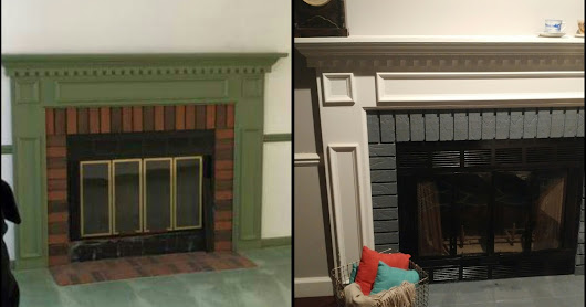 DIY Fireplace Redo