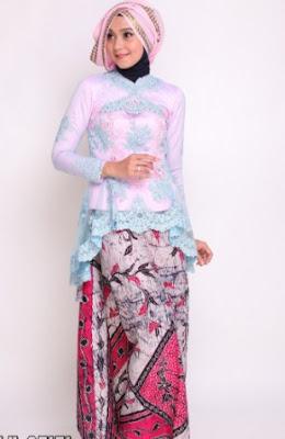 contoh Model Kebaya Batik modern
