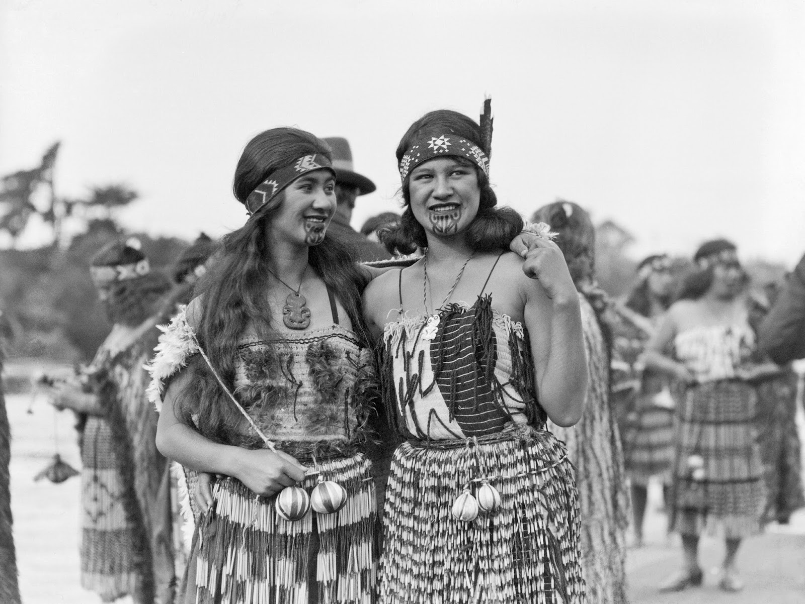 Women In Maori Culture: History In Photos: Leo White