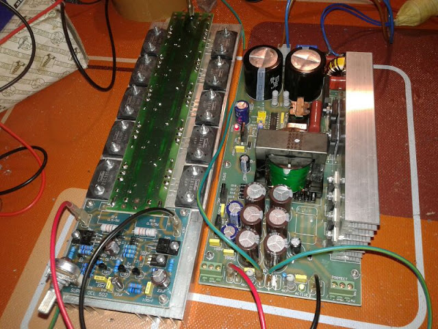 SMPS 1200 Watt for Power Amplifier