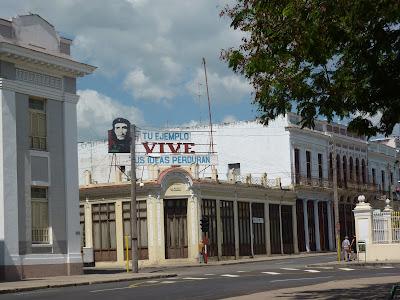 Una via di Cienfuegos