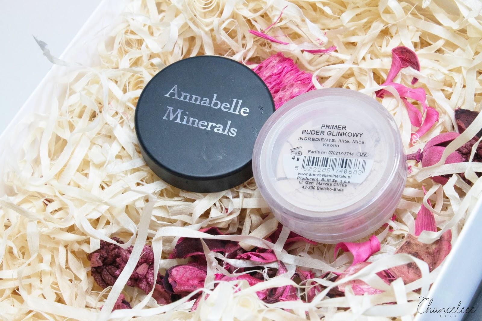Annabelle Minerals primer puder glinkowy