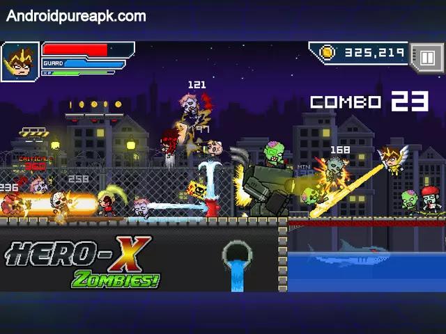 HERO-X: ZOMBIES! Mod Apk