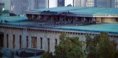 Así luce el Parlamento de Turquía tras el bombardeo
