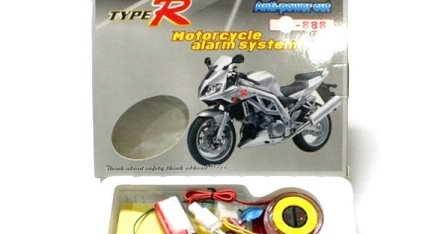 Alarm Anti Maling Sepeda Motor Dengan Remote Terbaik