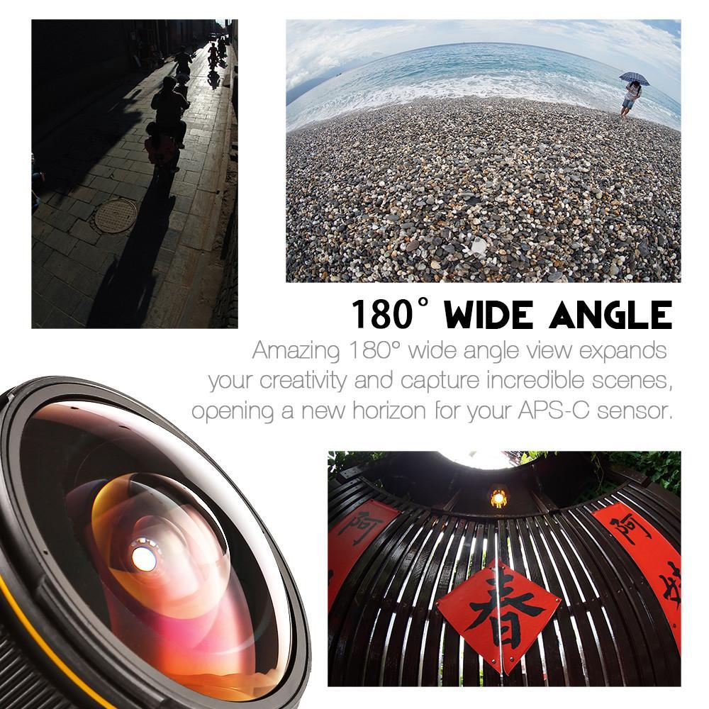 Примеры снимков, сделанных на объектив Kamlan 8mm f/3 Fisheye