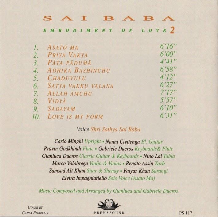 Hari Blog: Sri Sathya Sai Baba