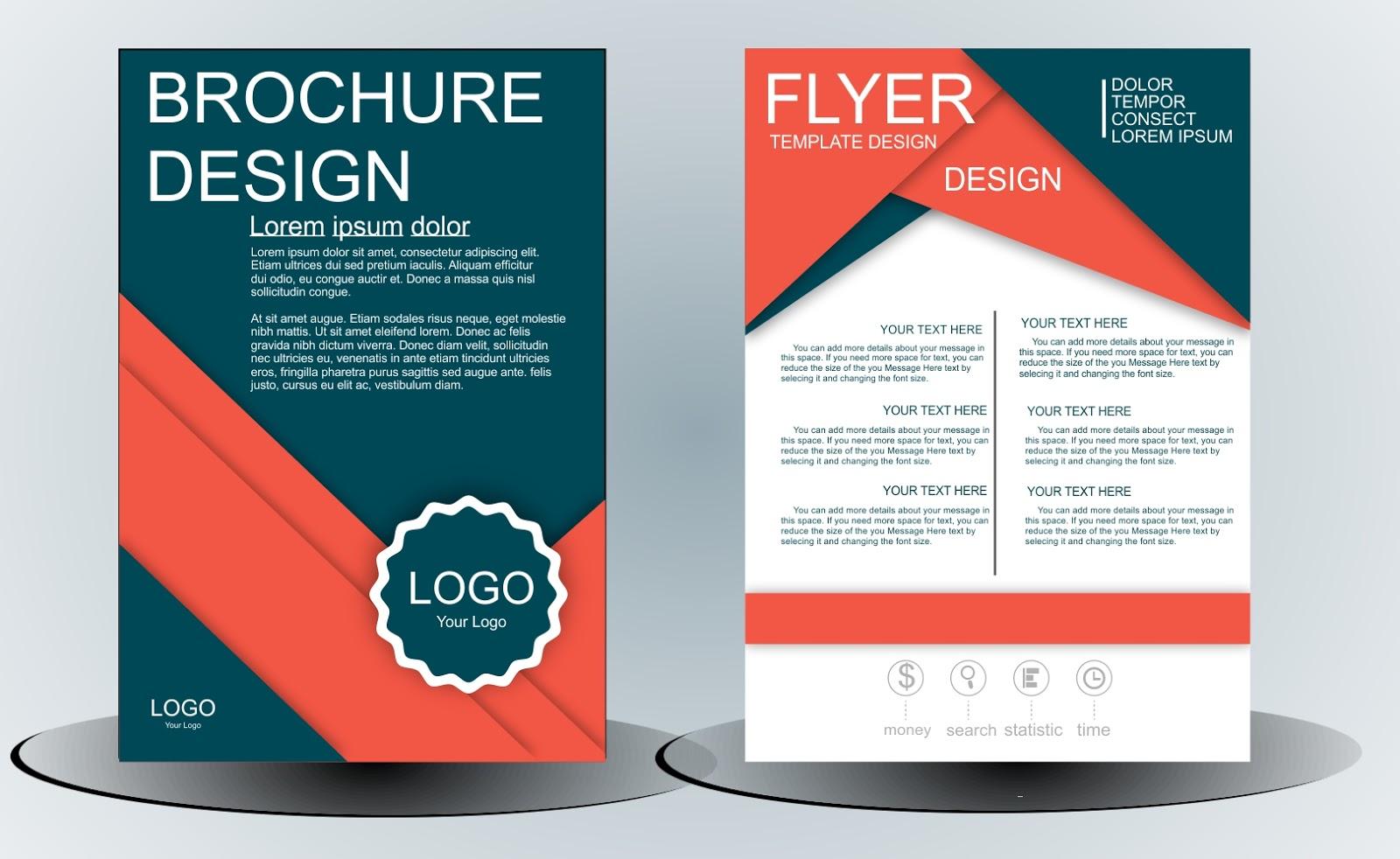 Free flyer template coreldraw techomelto for Coreldraw brochure templates