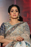Sri Devi in designer saree stunning beauty at the launch of MOM movie Trailer~  Exclusive 040.JPG