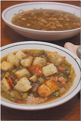 Tuscan Spring Vegetable Soup (Garmugia)