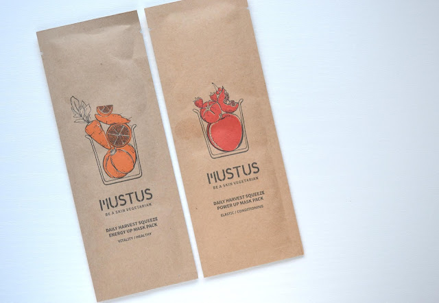 Mustus Daily Harvest Squeeze Mask Pack