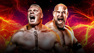 Brock Lesnar Vs Goldberg Wrestlemania 33 Match