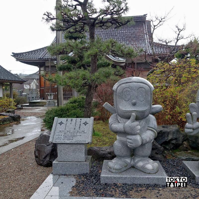 【光禪寺】住持之子成漫畫大師 寺院前有哈特利和怪物小鬼相迎