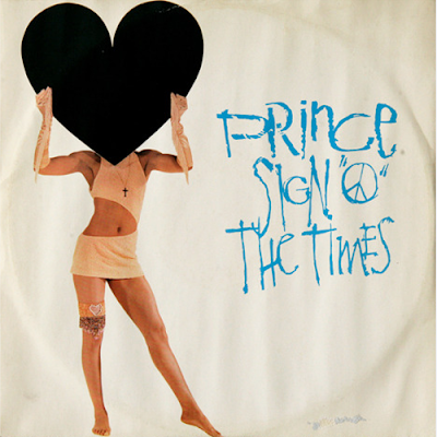 prince sign of the times handmade type album design