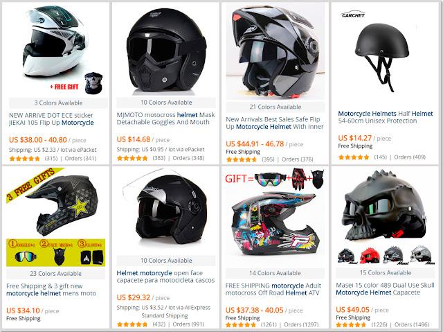 Helmets for Motorcyclists AliExpress Shop Online Help