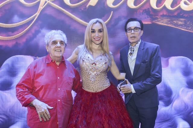 Antonio Gasalla, Fátima Flores y Marcelo Polino