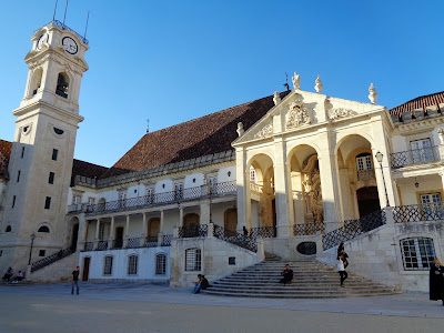University Building in Coimbra by Igor L.