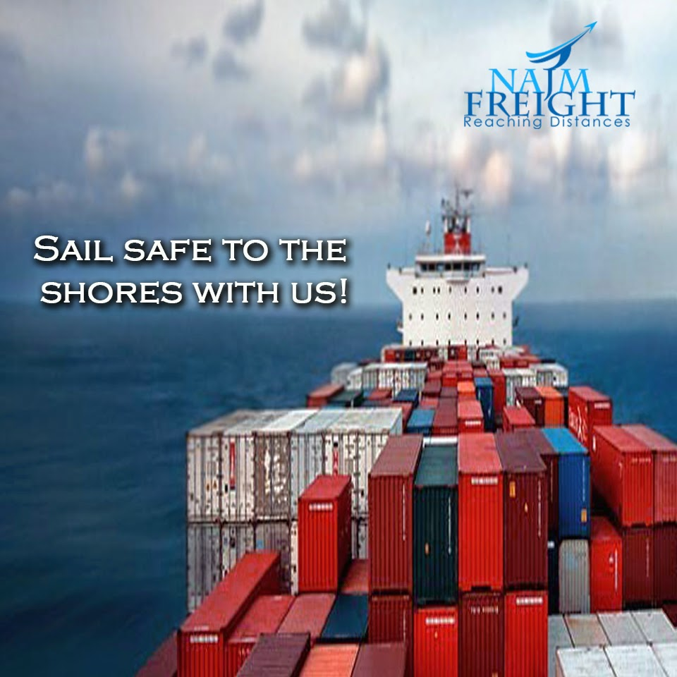 Know more about the advantages of using the services of sea