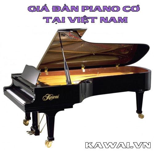 Giá đàn piano cơ tại Việt Nam tháng 4-2018