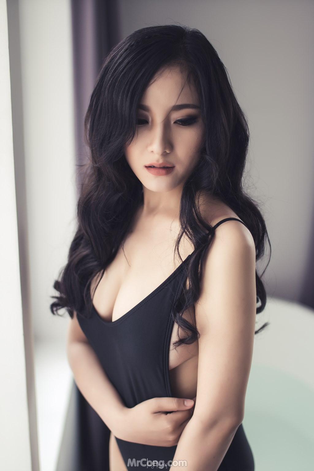 Image Sexy-Vietnamese-Models-by-Le-Blanc-Studio-Phan-3-MrCong.com-018 in post Những bức ảnh nội y, bikini siêu nóng bỏng của Le Blanc Studio – Phần 3 (446 ảnh)