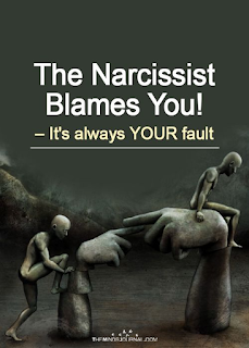 The Narcissists blames you